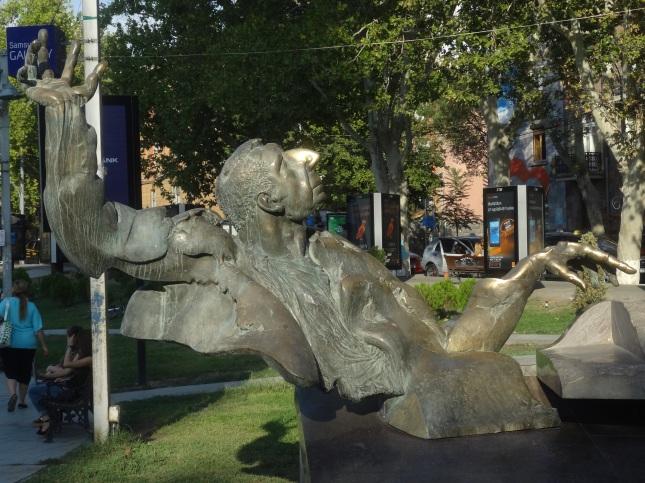 Esculturas na rua
